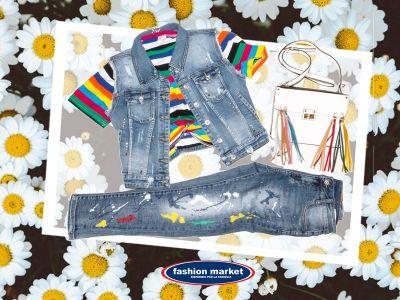 offerta fashion market linea donna jeans occasione collezione abiti donna primavera
