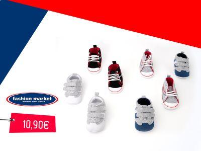 offerta fashion market scarpette da neonato occasione scarpine per neonato bebe primi passi
