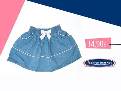 offerta gonna da bambina occasione collezione bambina vestiti fashion market
