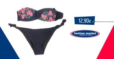 offerta fashion market costumi da bagno donna occasione bikini mare e piscina moda mare
