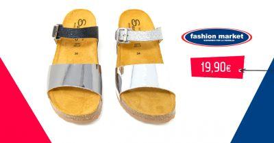 offerta fashion market sandalo dasso donna occasione calzature estive donna sandalo gioiello