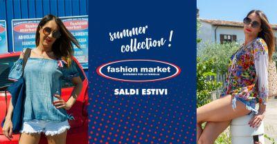 offerta abbigliamento saldi estivi 2018 roma occasione fashion market sconti abbigliamento