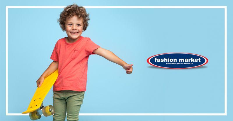 offerta abbigliamento per bambini Roma - occasione Fashion Market moda bimbi Roma
