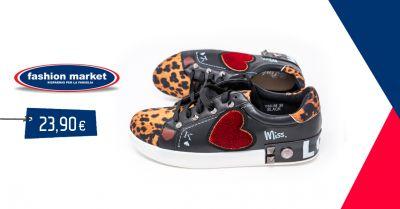 offerta scarpe da ginnastica donna fashion market occasione scarpe sneakers animal roma