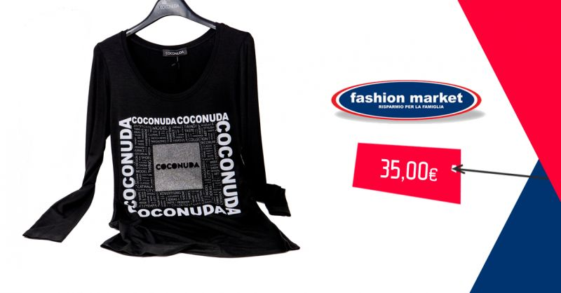 offerta maglia donna coconuda Roma - occasione Fashion Market abbigliamento donna Coconuda