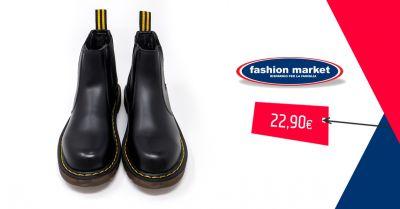 fashion market offerta scarpe anfibi neri occasione anfibi militari donna stivaletti bassi