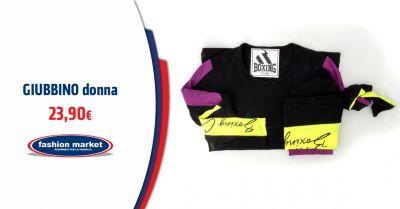 offerta giubbino sportivo boxing club roma occasione abbigliamento donna boxing club