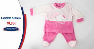 fashion market offerta abbigliamento per neonati roma occasione completi da neonata