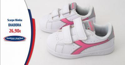 fashion market offerta scarpe diadora bambina roma occasione diadora bambina abbigliamento