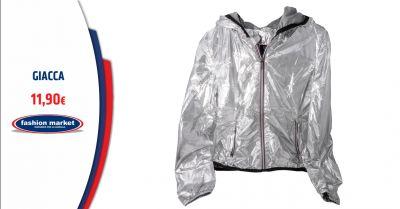 fashion market offerta giacca donna color argento roma occasione collezione giacche donna