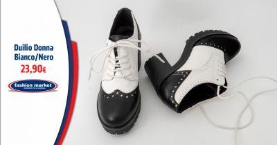 offerta scarpa donna stile inglesina roma occasione scarpe duilio stringate da donna