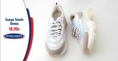 fashion market offerta sarpa da tennis donna roma occasione le migliori scarpe da tennis