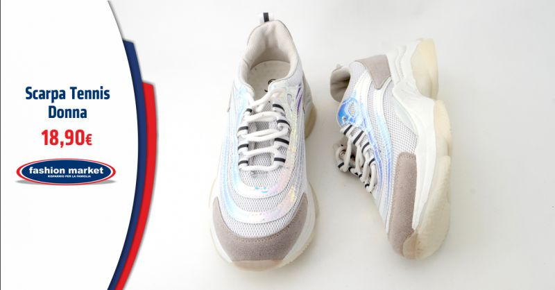 FASHION MARKET Offerta Sarpa da Tennis Donna Roma - Occasione le migliori scarpe da Tennis