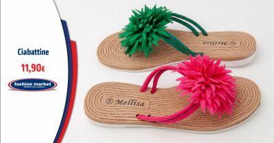 fashion market offerta ciabatte donna mare occasione sandali infradito mare per donna
