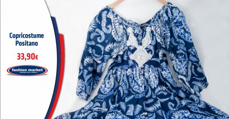 FASHION MARKET Offerta Copricostume Donna - Occasione Kaftani Parei moda Mare