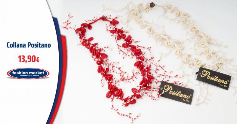 FASHION MARKET Offerta Collana stile Positano - Occasione Collane Stile mare