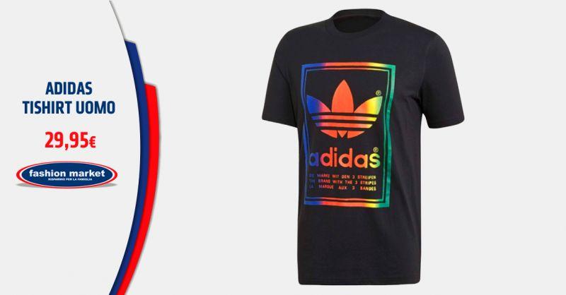 FASHION MARKET Offerta Magliette Tshirt da Uomo adidas - Occasione Collezione Uomo Adidas