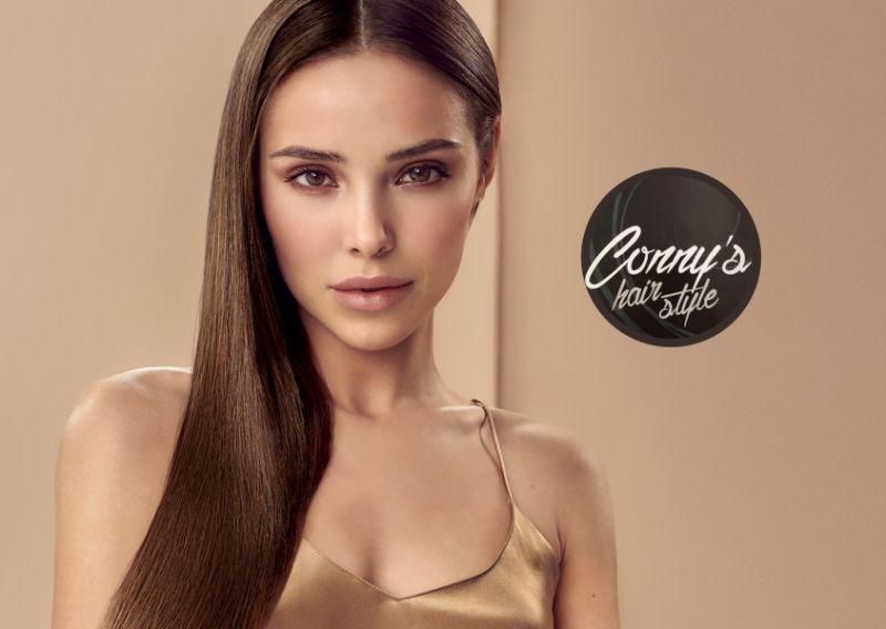 CONNY'S HAIR STYLE offerta cappelli lisci e morbidi a lungo trattamento lisciante