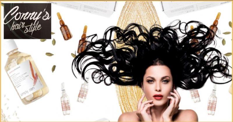 offerta trattamenti anticaduta capelli a Trieste - occasione trattamenti SIMPLY ZEN parrucchiere