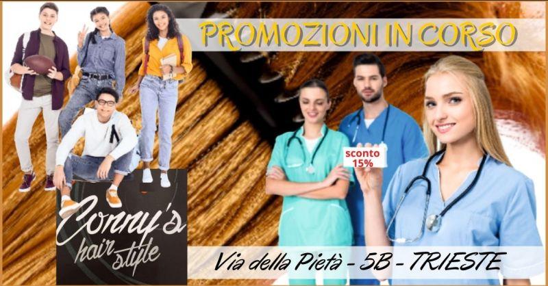 occasione sconti trattamenti per capelli a Trieste - CONNY S HAIR STYLE