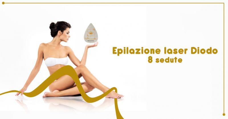 ALAVIDA Offerta servizio epilazione laser a diodo Zero Branco provincia Treviso