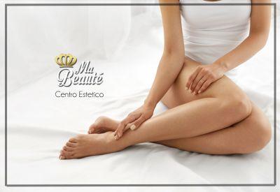 offerta servizio epilazione professionale promozione trattamento epilazione per le gambe