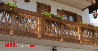 mik legno occasione balconi resistenti offerta realizzazione installazione poggioli su misura