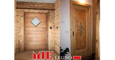 offerta realizzazione e restauro di porte e portoncini in legno belluno