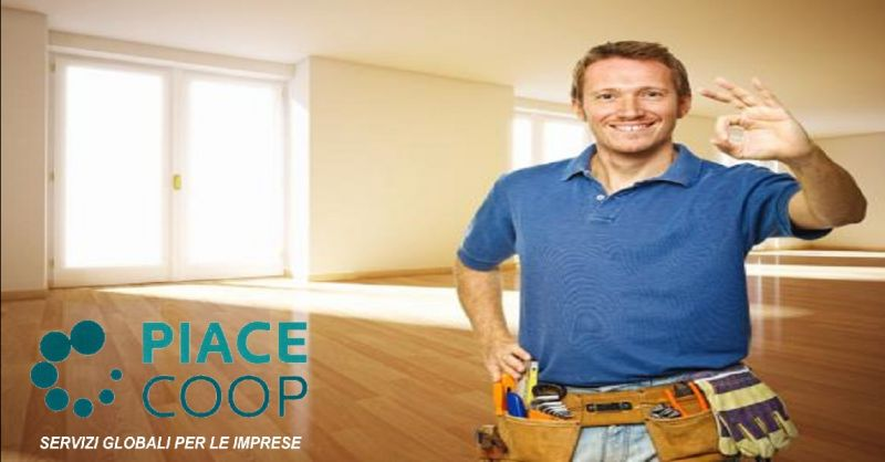 PIACECOOP offerta realizzazione strutture in cartongesso - occasione servizi per tinteggiature