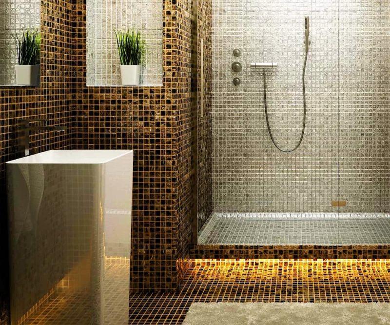 Offerta realizzazione decorazione pareti in mosaico sihappy