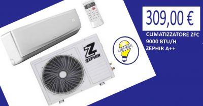 offerta climatizzatore zfc 9000 btu h zephir a promozione condizionatore zephir