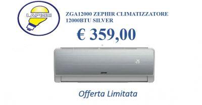 offerta climatizzatore zga 12000 zephir promozione condizionatore caldo freddo zeprhir 1200