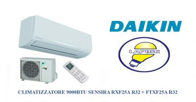 offerta climatizzatore daikin sensira 9000 promozione condizionatore rxf25a r32 lapige