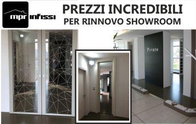 offerta infissi e porte per interno promozione speciale su porte pivato ed henry glass