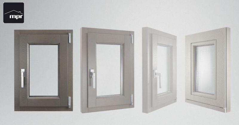 MPR Infissi occasione vendita finestre - offerta manutenzione serramenti in legno finnova