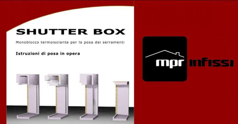 Offerta vendita di cassonetti monoblocco Pordenone - Occasione coibentazione infissi Pordenone