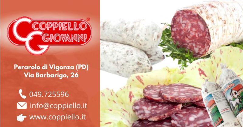 Offerta vendita salame di cavallo gluten free - Occasione sopressa di carne equina alta qualità Padova