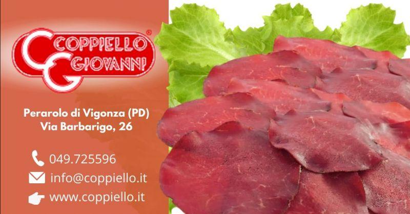 Offerta produzione bresaola di cavallo senza glutine - Occasione vendita bresaola equina gluten free Padova