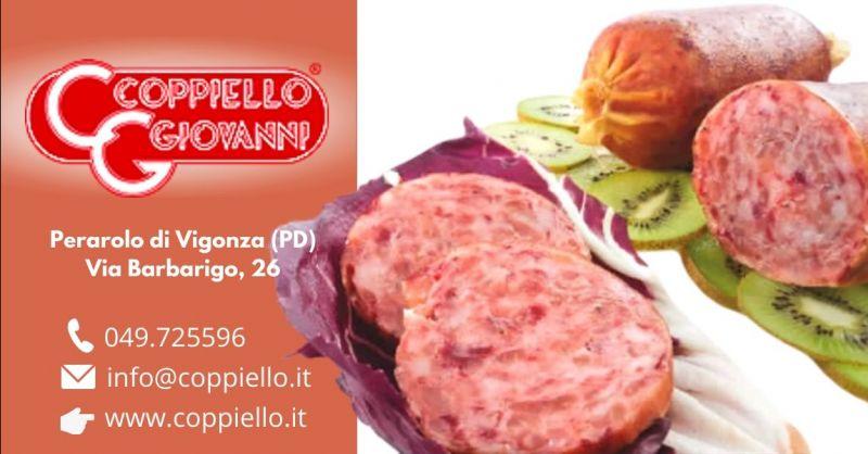 Offerta produzione cotechino carne di cavallo Padova - Occasione cotechino carne equina gluten free