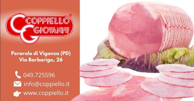 Offerta prosciutto sottofesa magra di puledro Padova - Occasione produzione salumi carne equina Padova