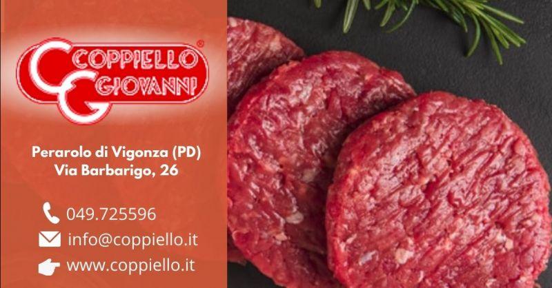Offerta vendita hamburger cavallo senza glutine - Occasione macelleria vendita carne di cavallo Padova