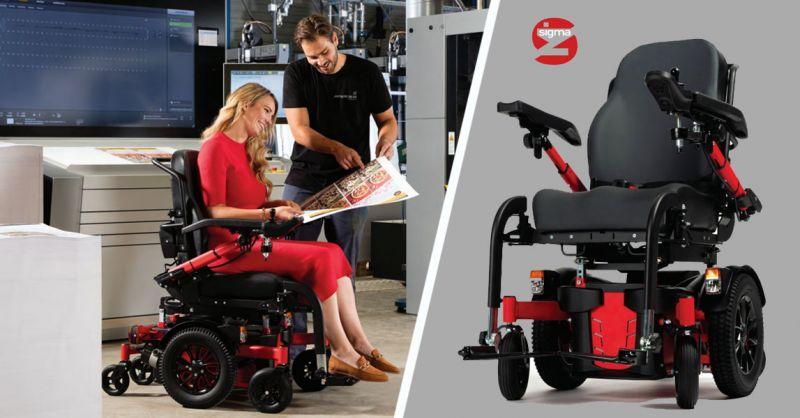 Offerta carrozzina per disabili Sigma Bari – Promozione carrozzina elettronica Bari