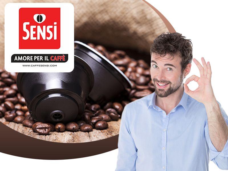 Caffe' Sensi - Offerta Ricerca Venditori Caffe - Promozione Ricerca Rivenditori Caffe'
