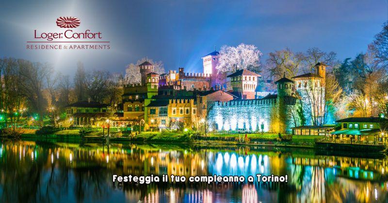 Offerta prenotazione on line pacchetto compleanno per 2 in monolocale Torino - Loger Confort