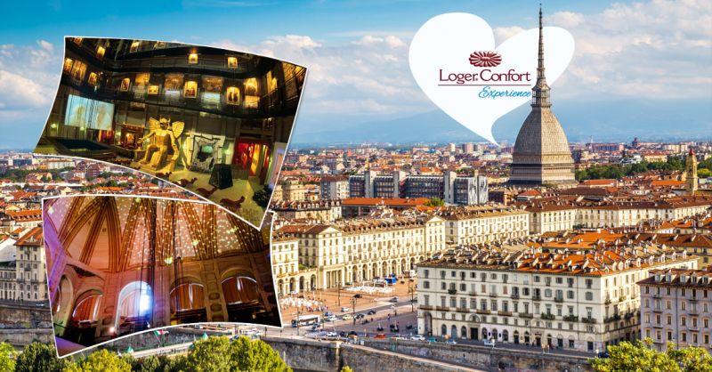 Offerta prenotazione pacchetto per 2 persone monolocale Mole Antonelliana Torino - LogerConfort