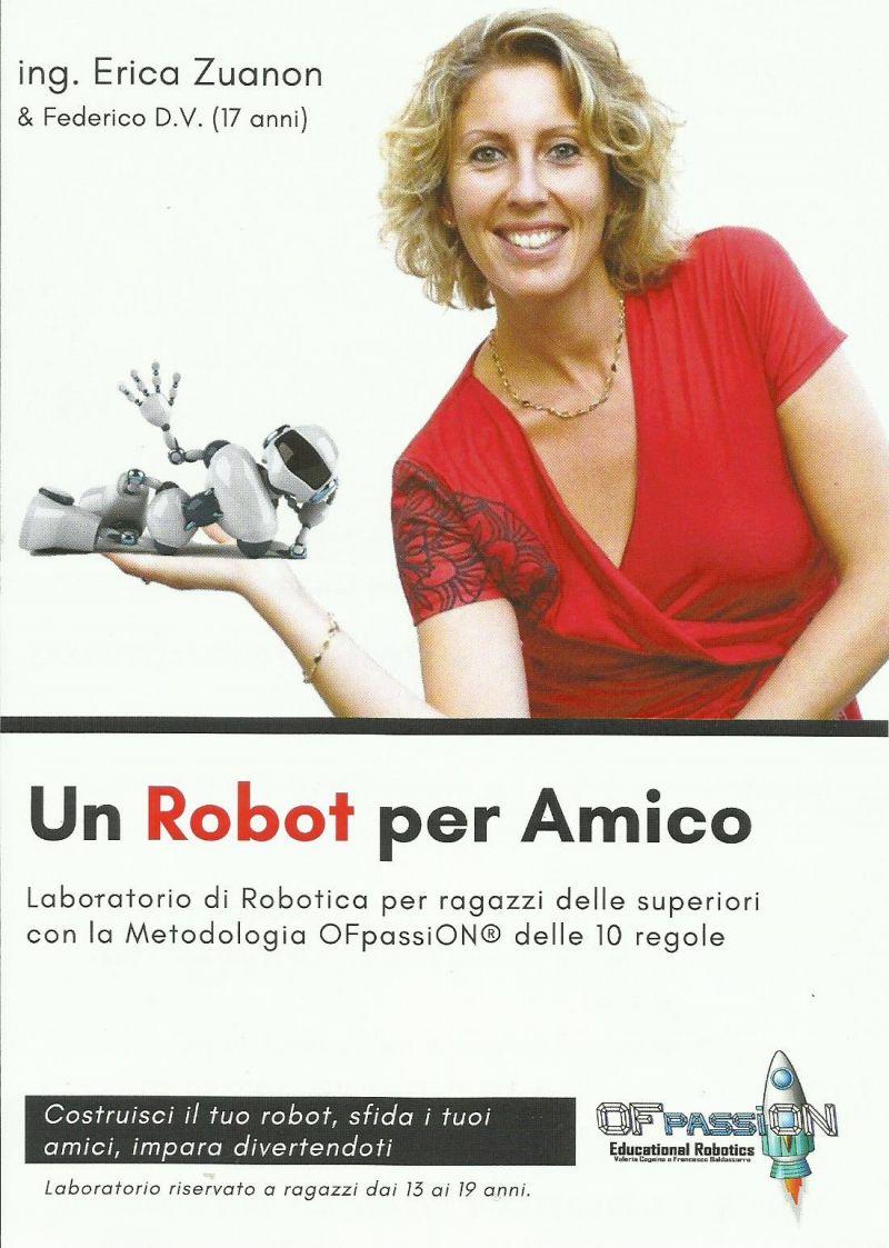 corsi di robotica - un robot per amico - erica zuanon