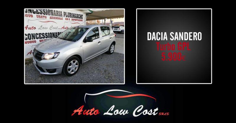 AUTO LOW COST - offerta Dacia Sandero GPL usato garantito viterbo