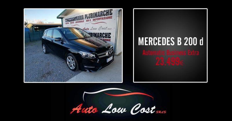 AUTO LOW COST - offerta mercedes b 200 diesel usato garantito viterbo