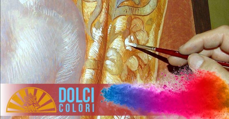 DOLCI COLORI - Promozione vendita pigmenti naturali per artisti restauratori Verona