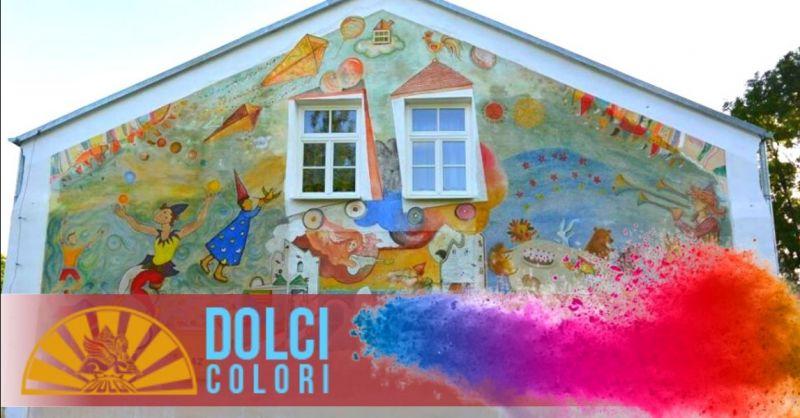 Offerta produzione colori per decorazioni murali - occasione pitture decorative per muri Verona